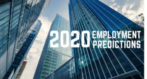 2020 Employment Predictions